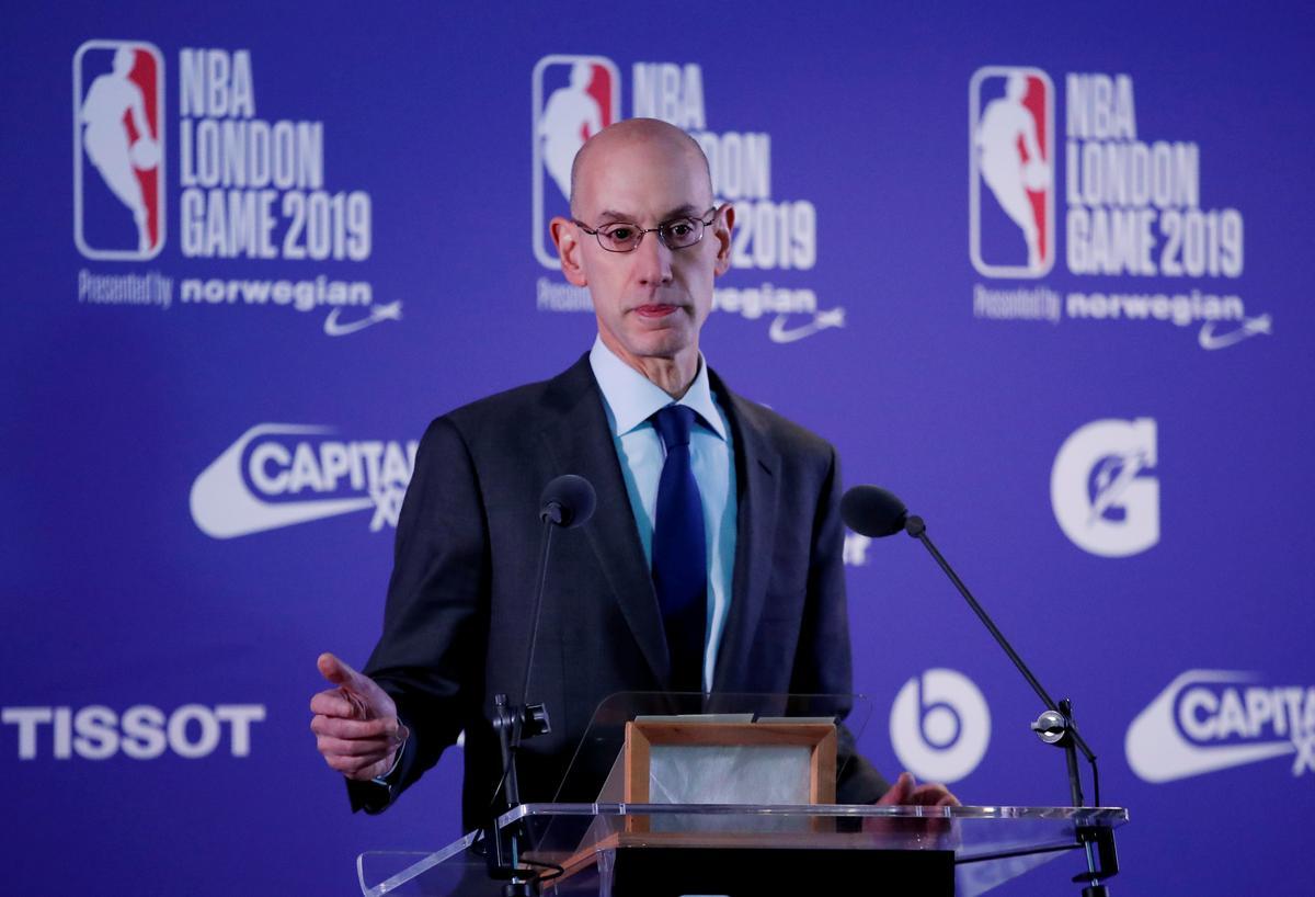 NBA se Silver sê dat die waardes nie in gedrang gebring sal word om die situasie tydens China-besoek te bespreek nie