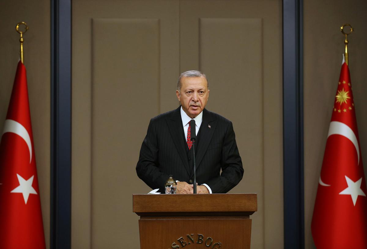 Die Withuis sê die Erdogan van Turkye besoek 13 November