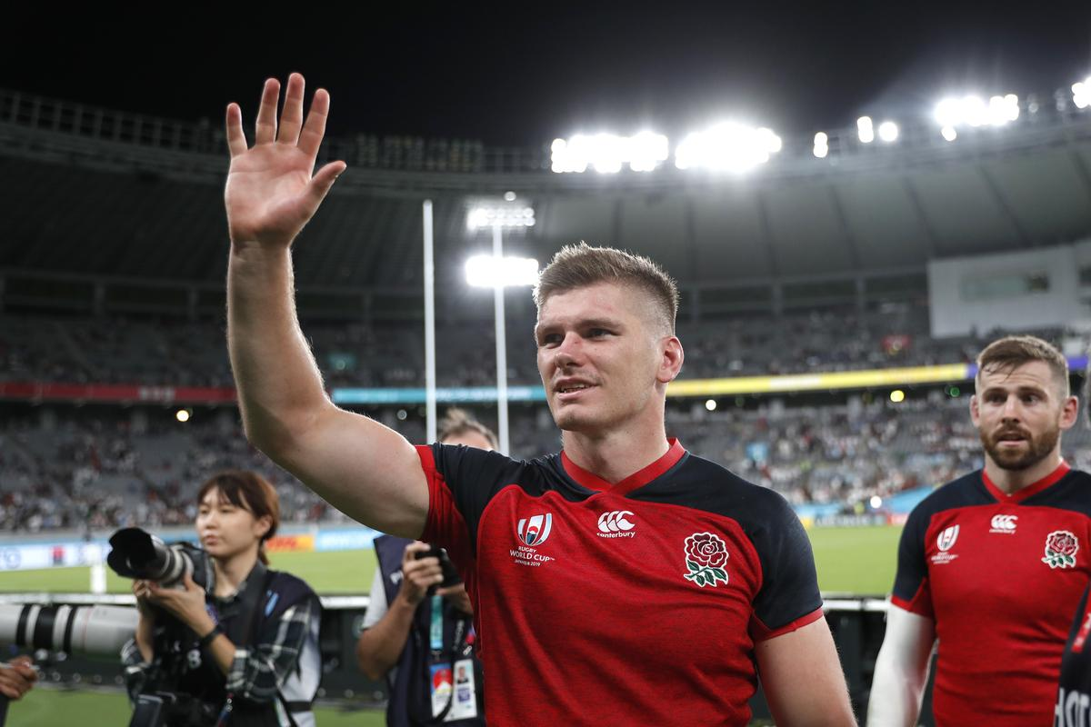 Farrell's 'clunky' form not a concern for England - Wisemantel