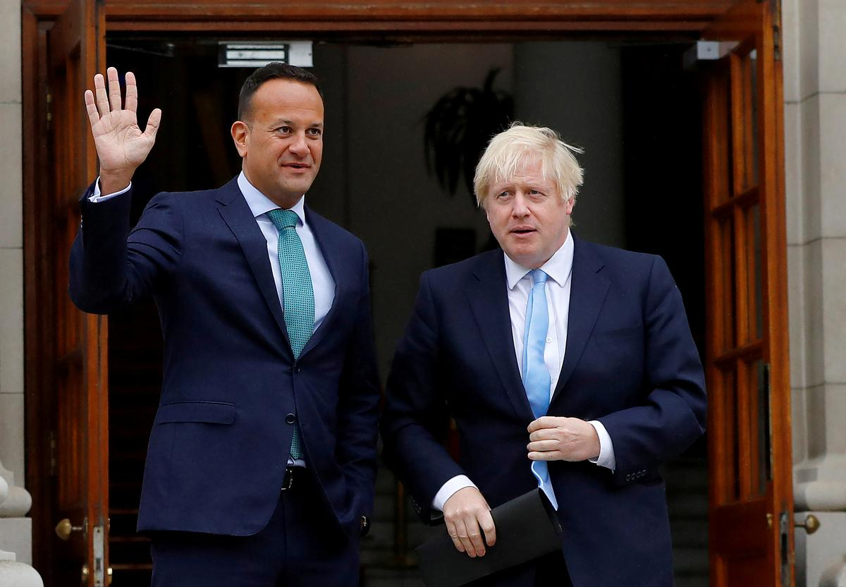 Last chance Brexit saloon: British and Irish leaders to meet