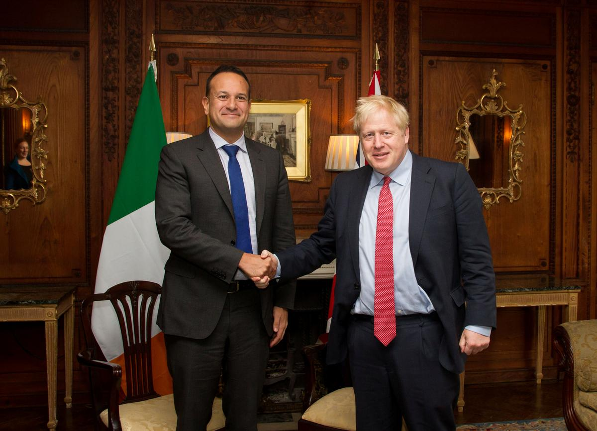 Brexit deal can be done by October 31, Ireland says after positive Johnson meeting