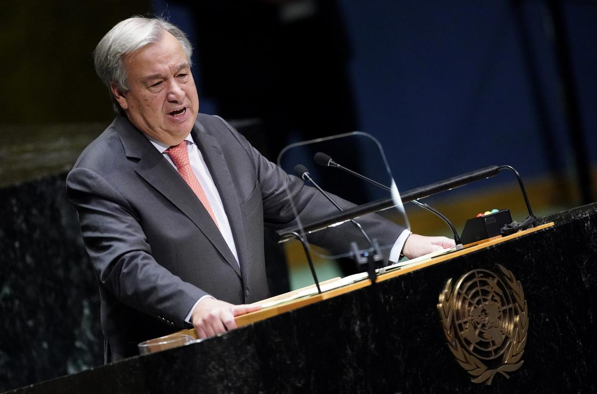 U.N chief Guterres calls for de-escalation of conflict in Syria