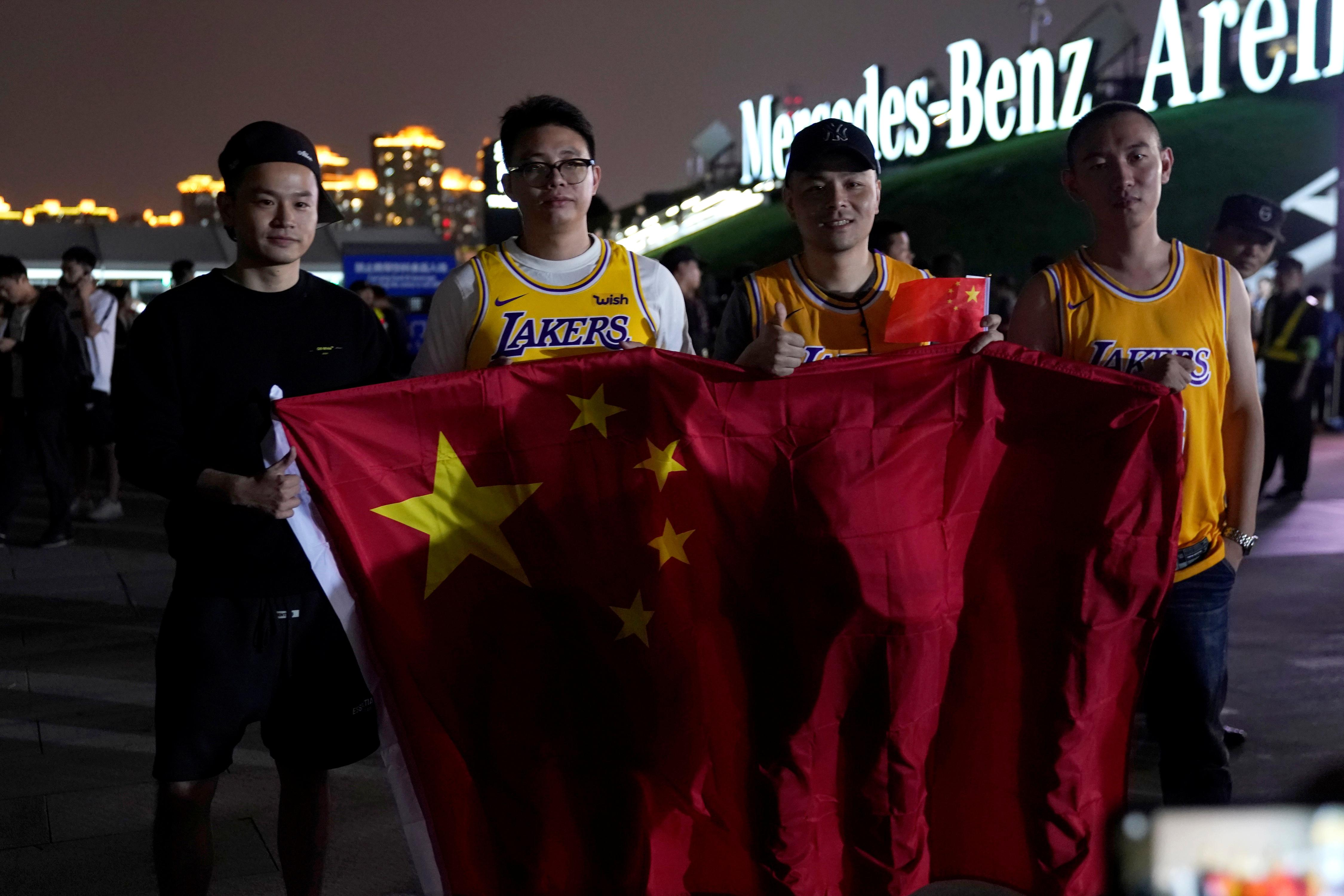 UPDATE 4-NBA scraps media access to teams in China amid HK tweet backlash