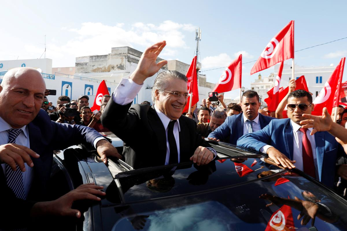 Starkly different candidates vie for Tunisia's presidency