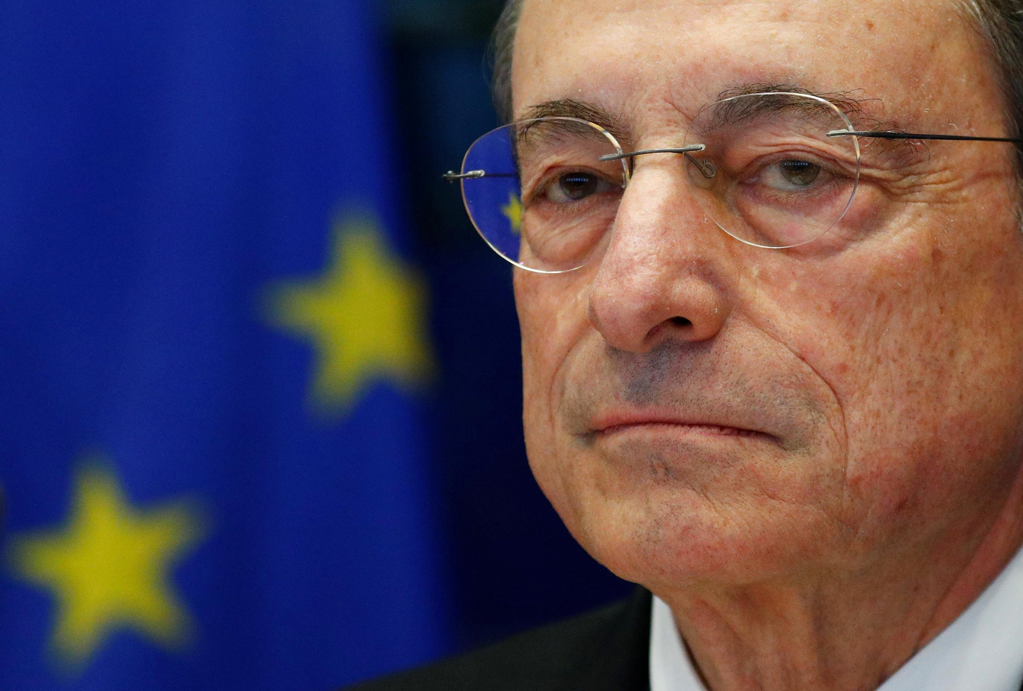 Spend more if you want ECB to raise rates, Draghi tells governments