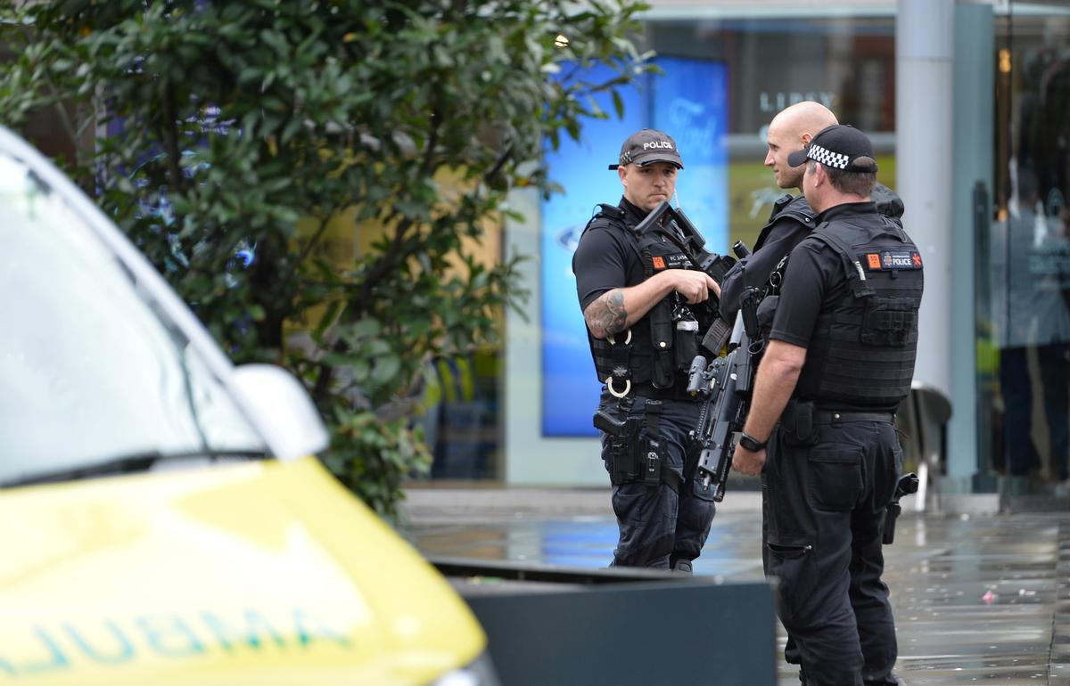 Man arrested for stabbings at UK shopping mall believed to have...