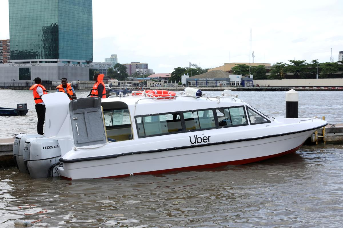 Uber launches boat service in Nigeria's megacity Lagos - Reuters