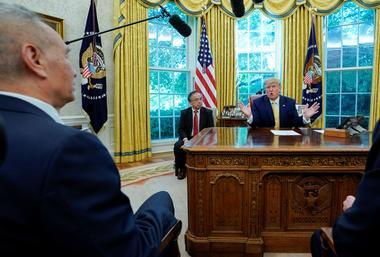 焦点:中美达成第一阶段实质性贸易协议 特朗普称非常接近结束贸易战