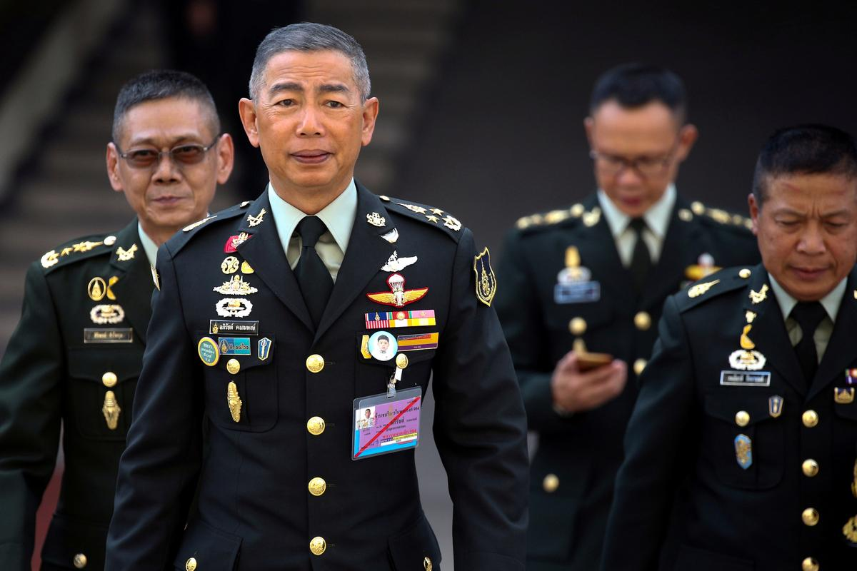 Thai opposition accuses army chief of meddling in politics,...