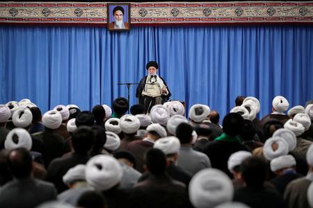 UPDATE 1-Khamenei tells Iran's Guards to develop more advanced, modern weapons