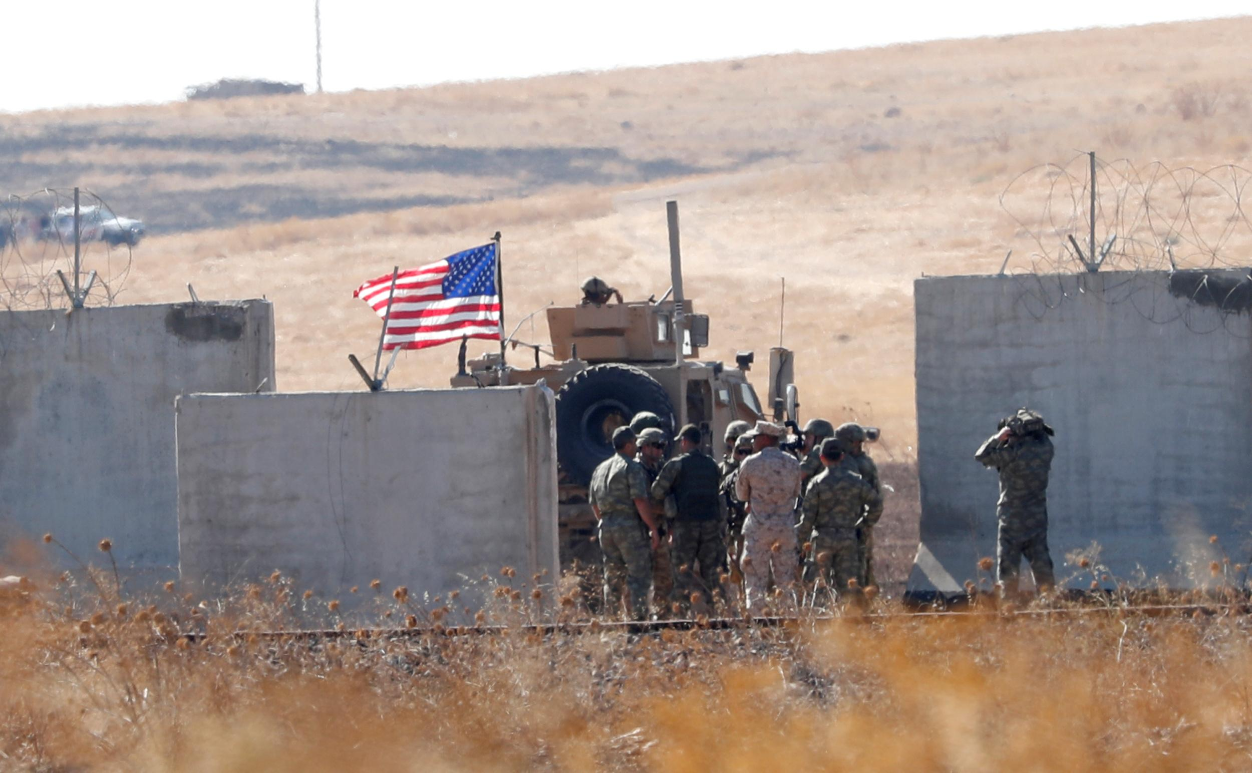 Exclusive: U.S. could pull bulk of troops from Syria in matter of...