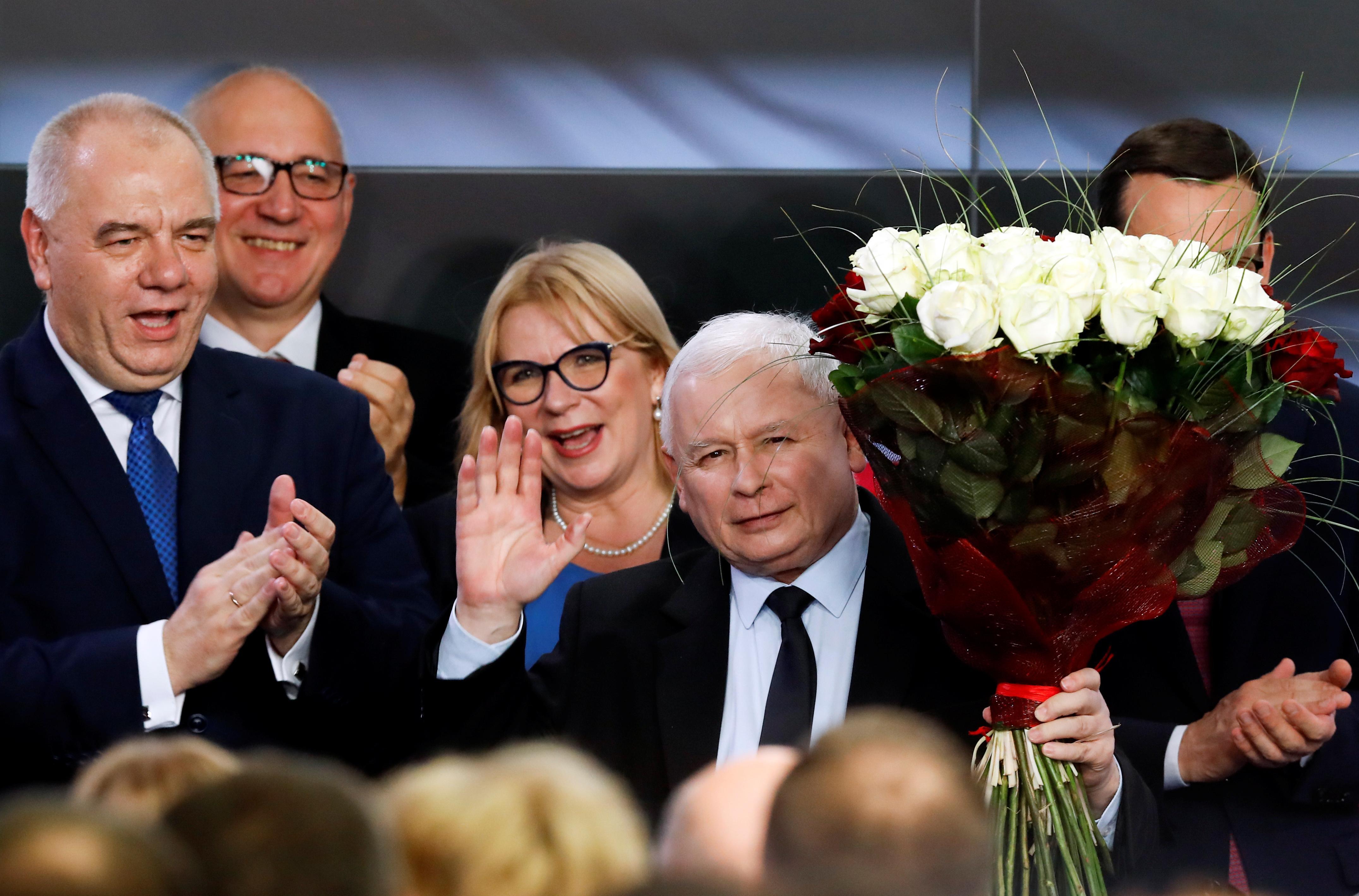 Poland's nationalists seal election majority, lose Senate
