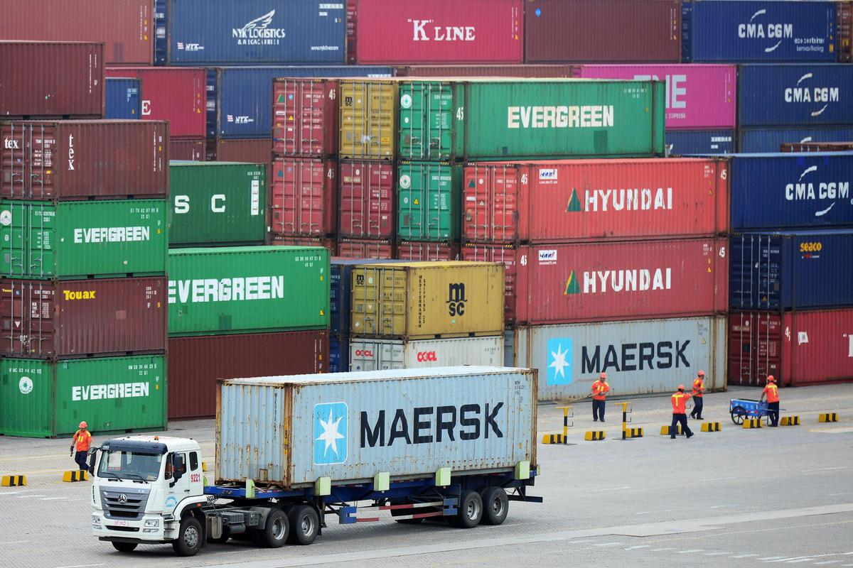 China September exports, imports in deeper contraction as tariffs...