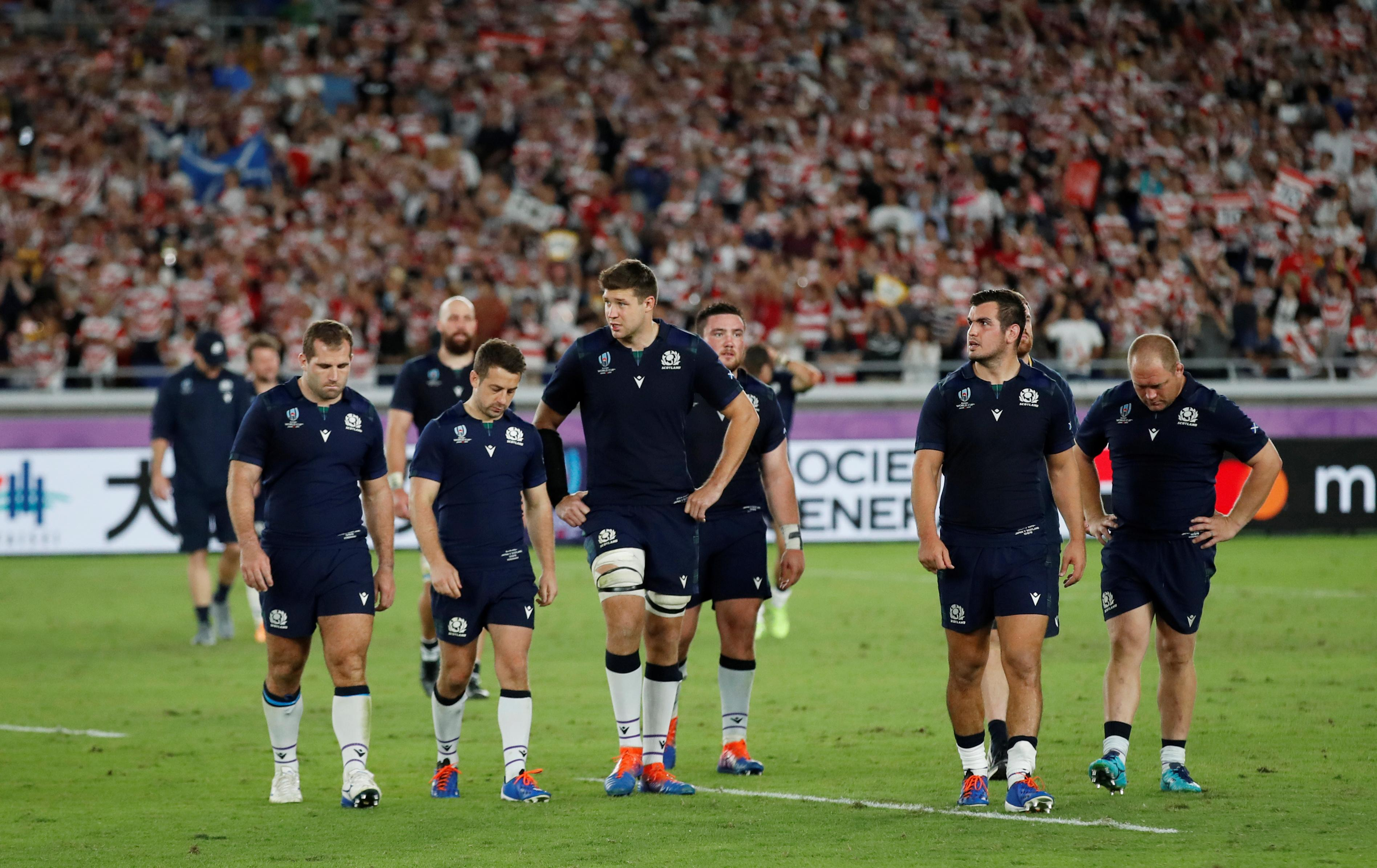 Scotland in the slow lane as World Cup hopes dashed by Japan