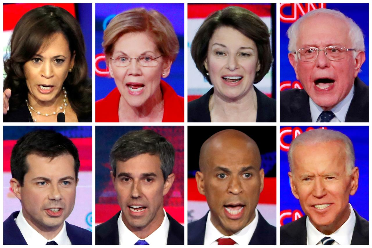 list of democratic presidential candidates 2020
