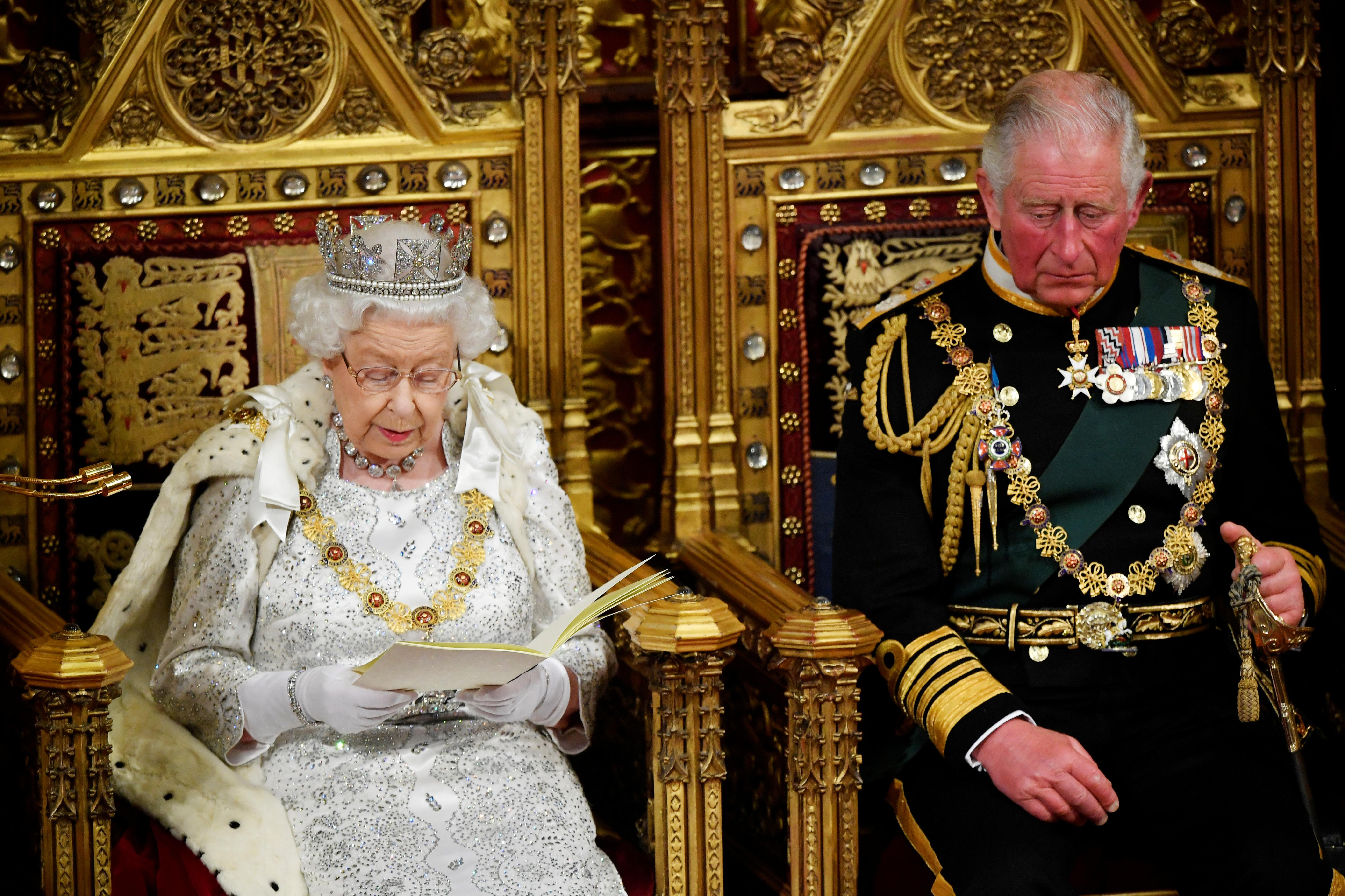Unveiling UK government plan, Queen Elizabeth says priority is to...