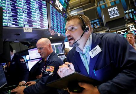 Wall Street heads lower as trade deal optimism fades