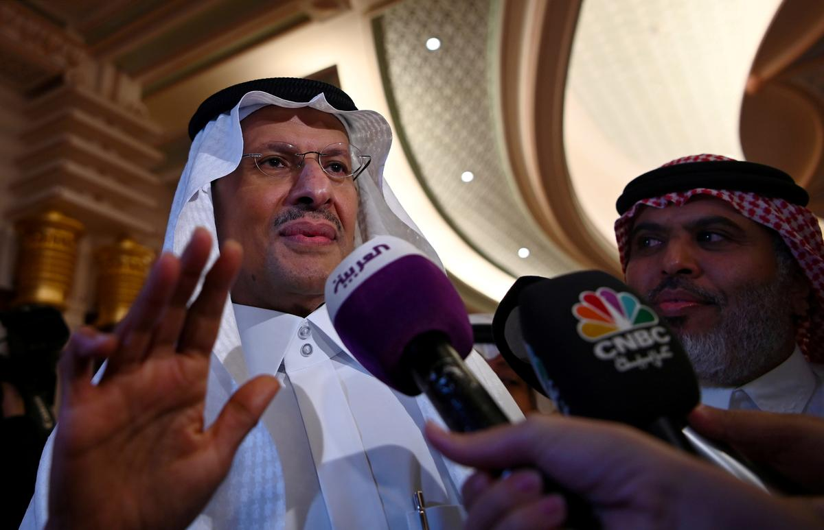 Saudi oil output seen above pre-attack levels in October, November