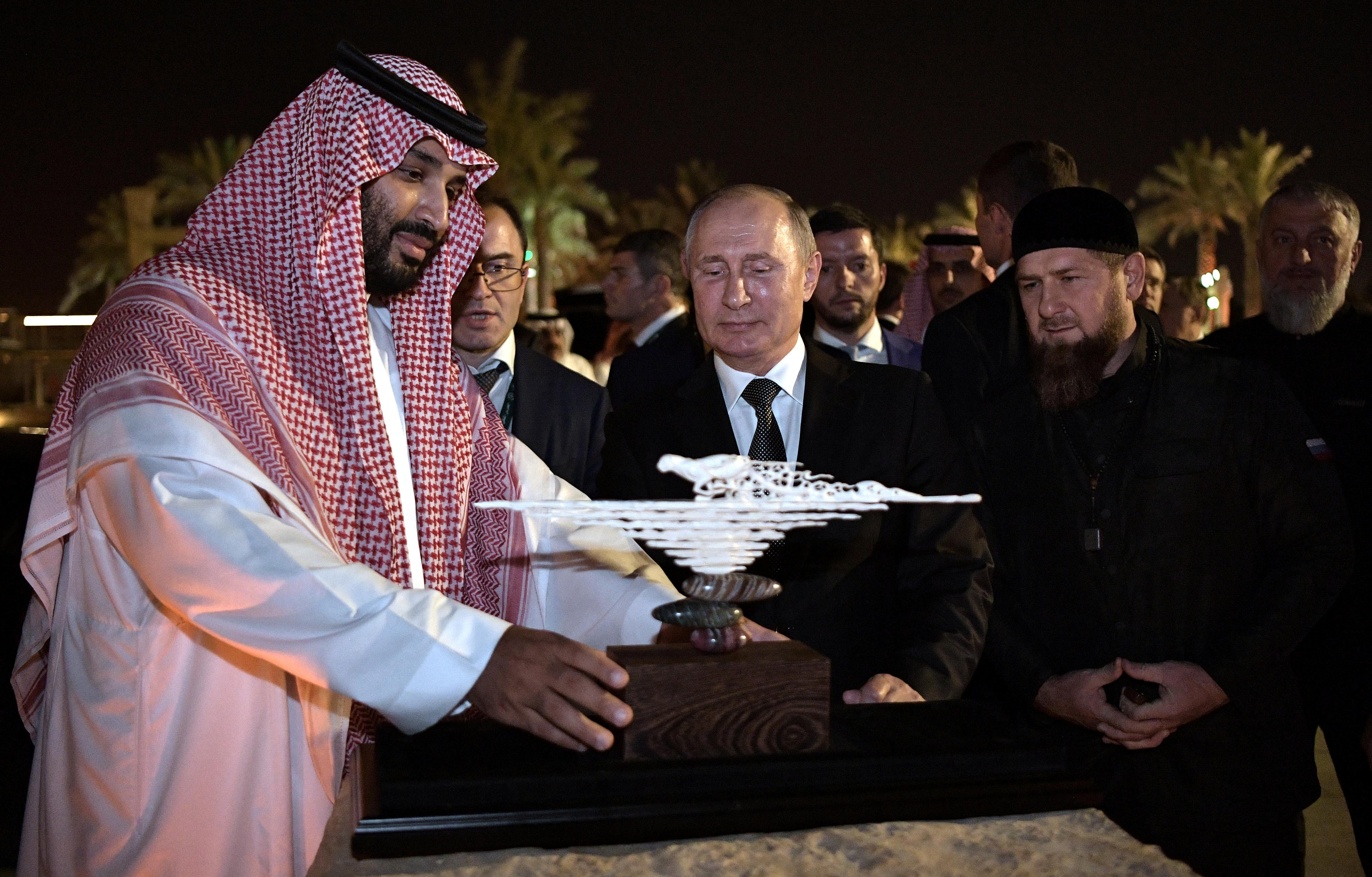 Saudi visit signals Putin's growing Middle East influence