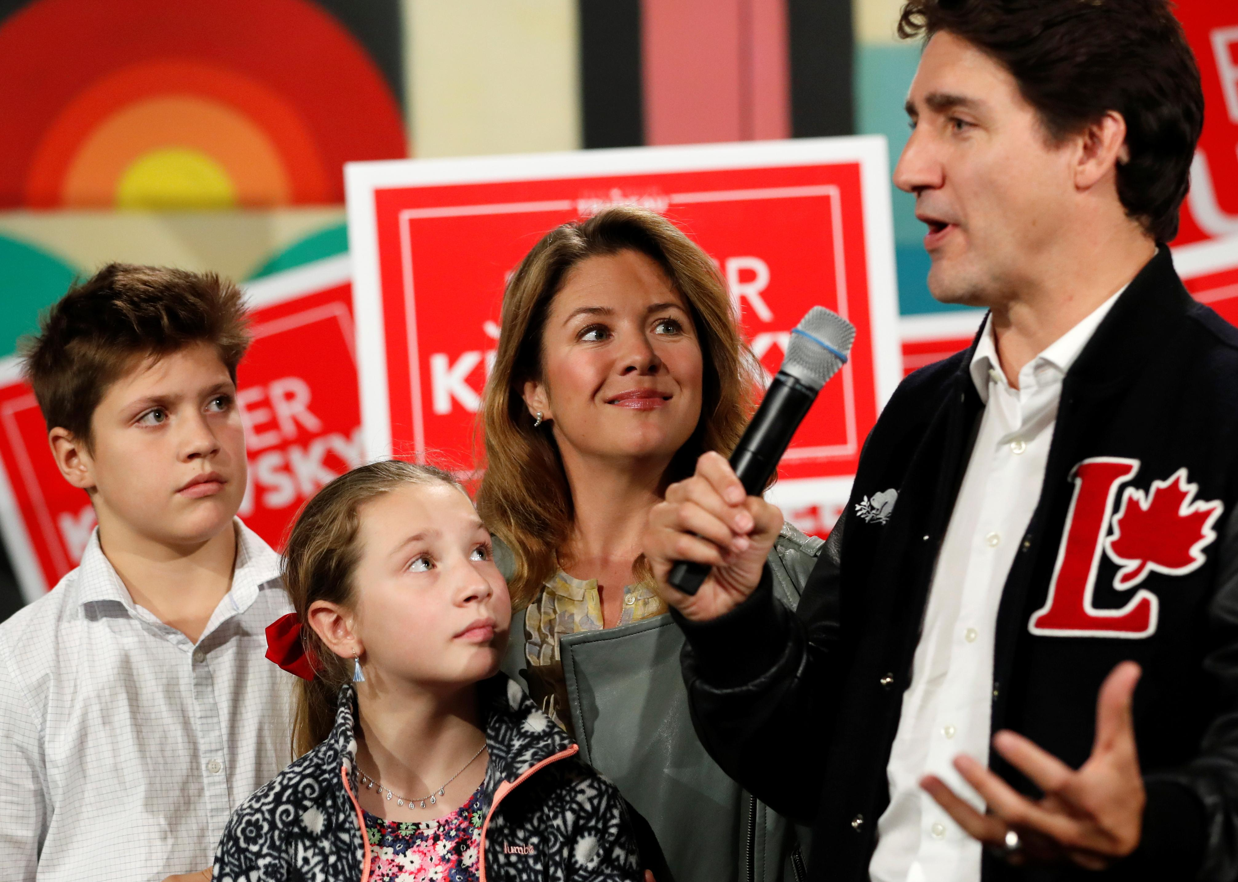 Canada's Trudeau, in election fight, says he needs voter support to...