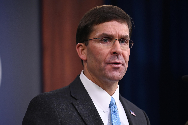 Pentagon chief Esper says will press NATO allies to take measures...