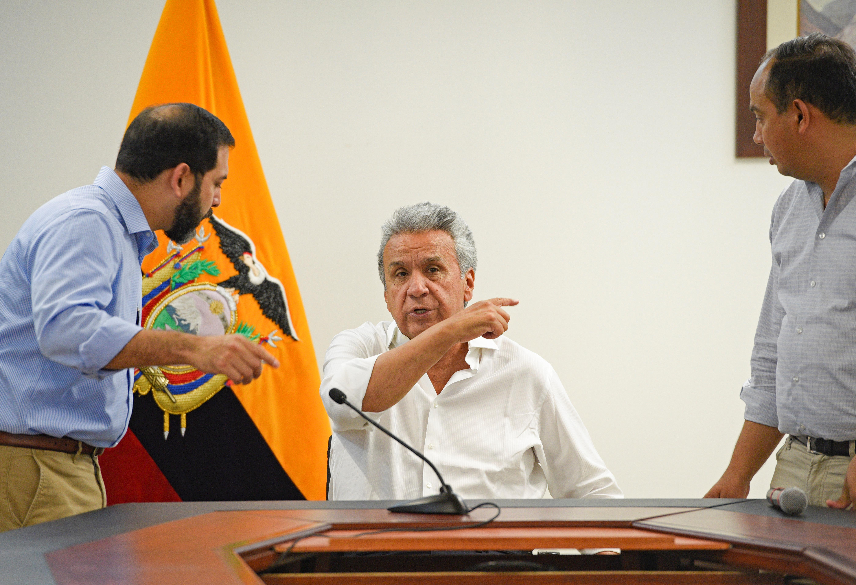 Ecuador's Moreno signs decree ditching fuel subsidy cuts after...