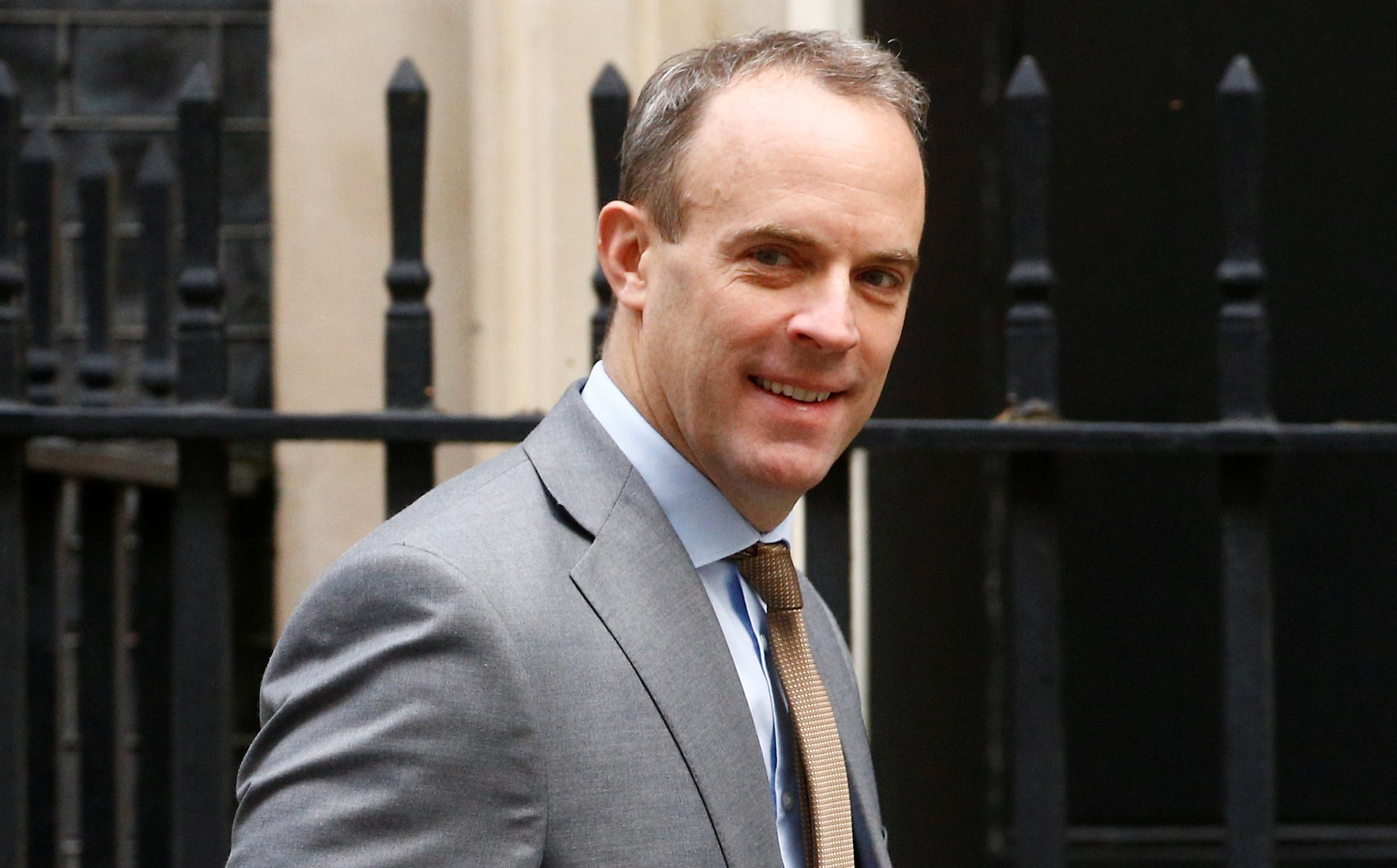 Britain to halt new defense export licences to Turkey: Raab