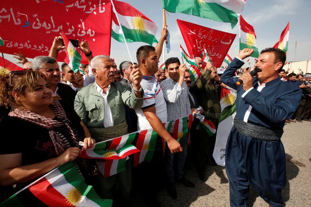 Turkish assault in Syria weakens Iraq Kurds, strengthens regional powers