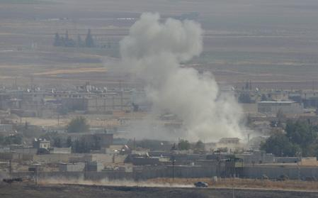 WRAPUP 7-Turkey pushes offensive in Syria, despite sanctions and calls to stop