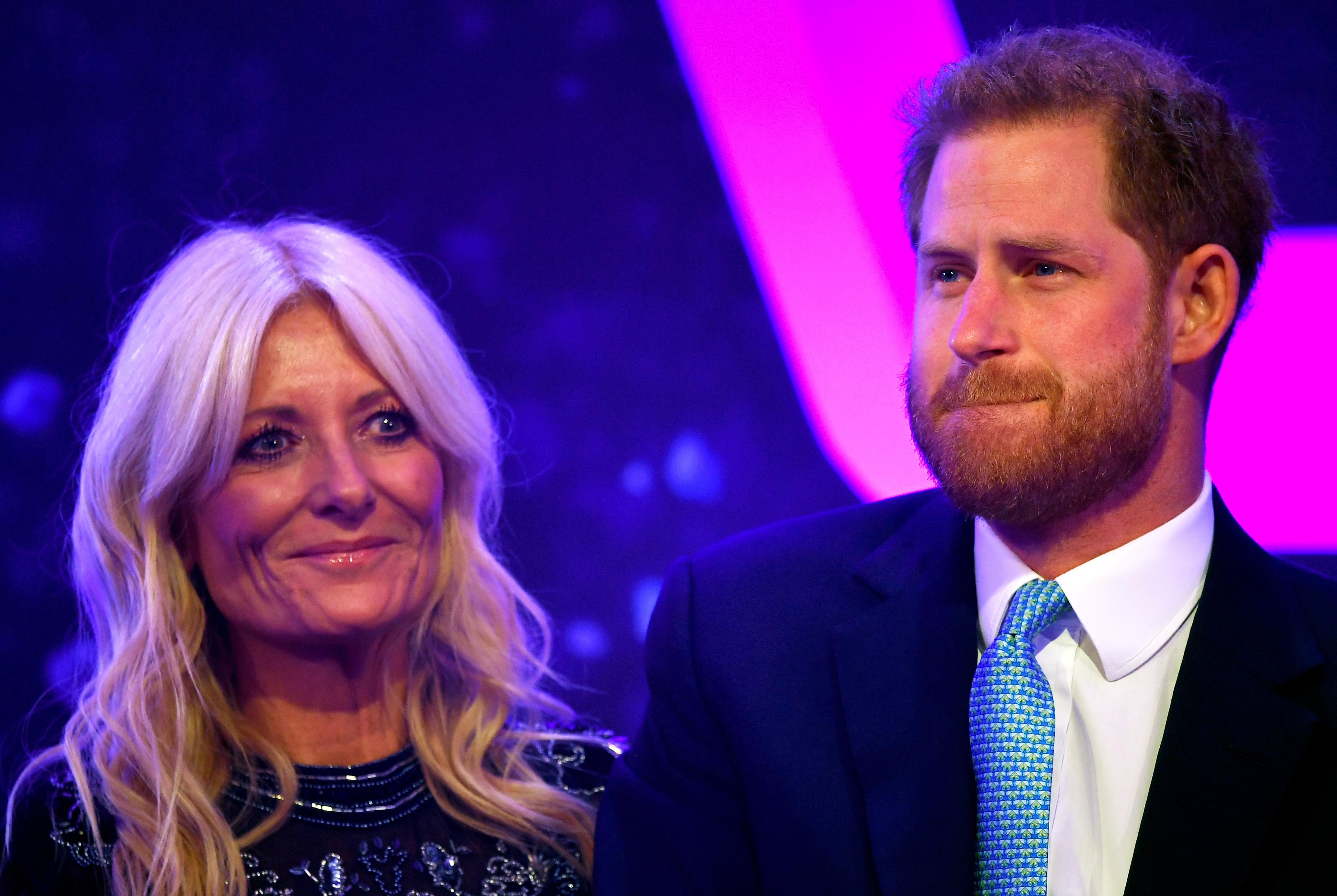 Prince Harry wells up at awards for seriously ill children