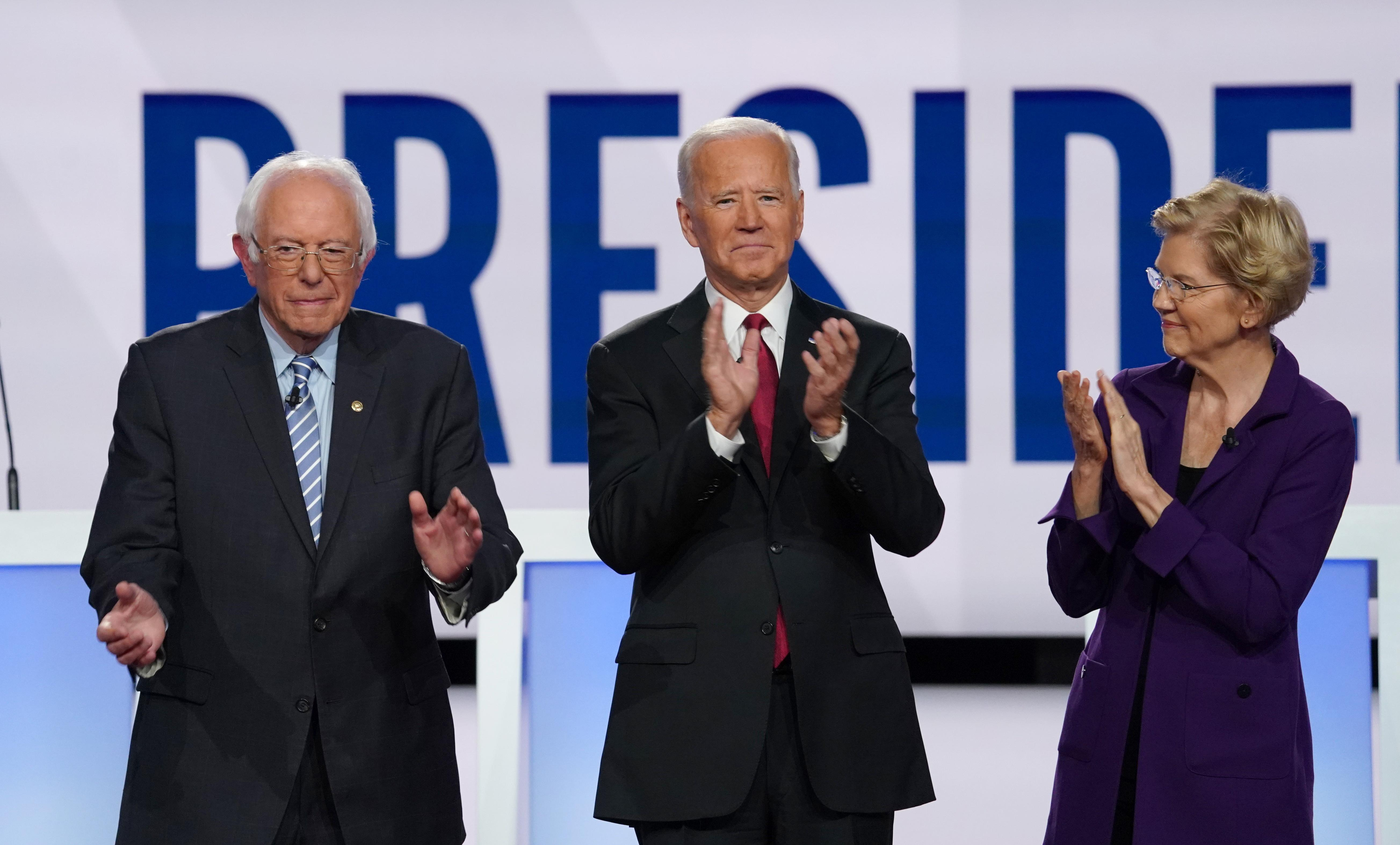 Highlights of the Democratic debate: Warren pile-on, questions...