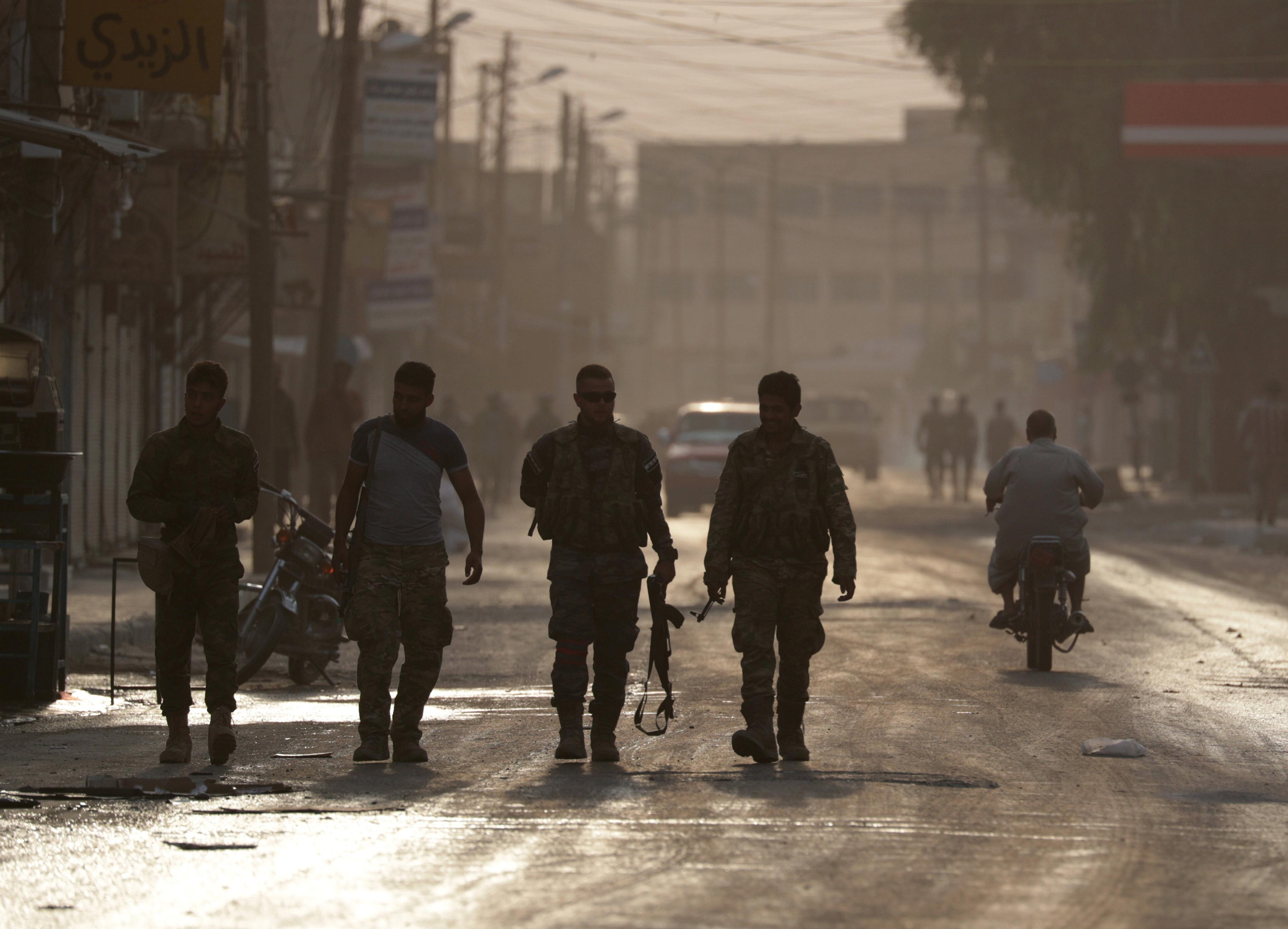 Syrian army takes control of military bases left behind by U.S....