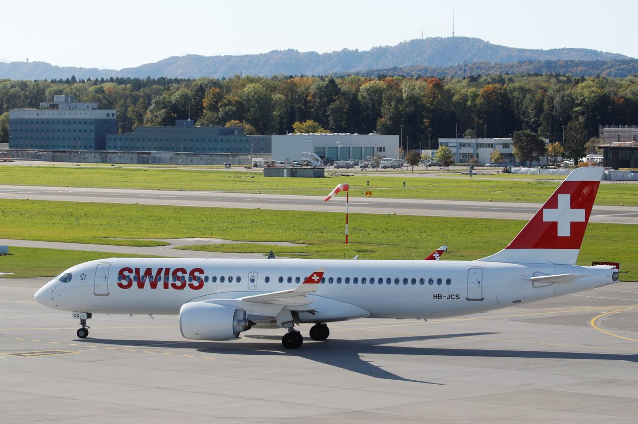Image result for swiss air lines Airbus A220
