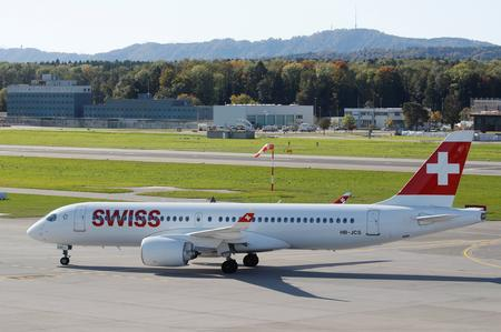 UPDATE 2-Swiss says Airbus A220 flights resuming as engines pass inspection
