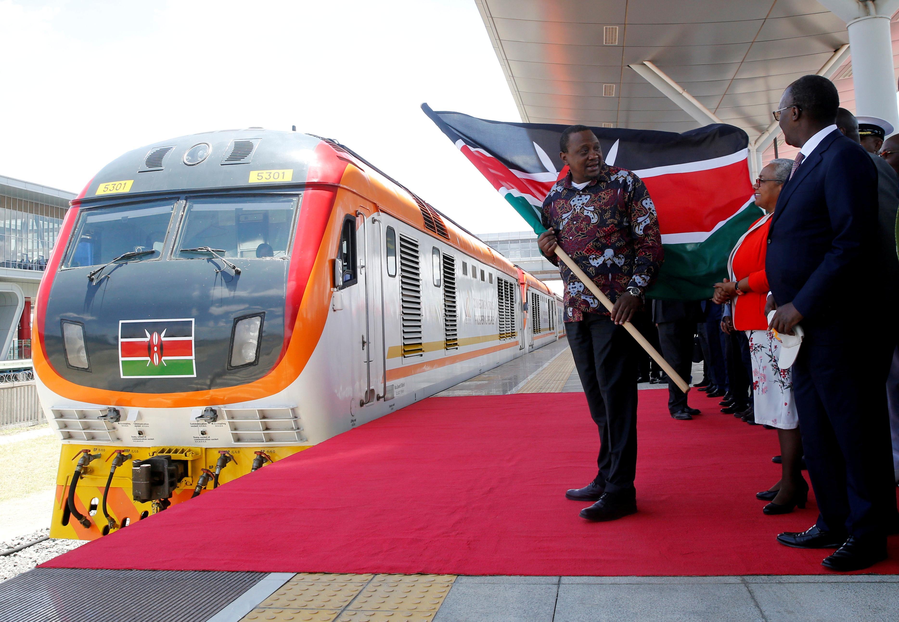 Kenya opens $1.5 billion Chinese-built railway linking Rift Valley...