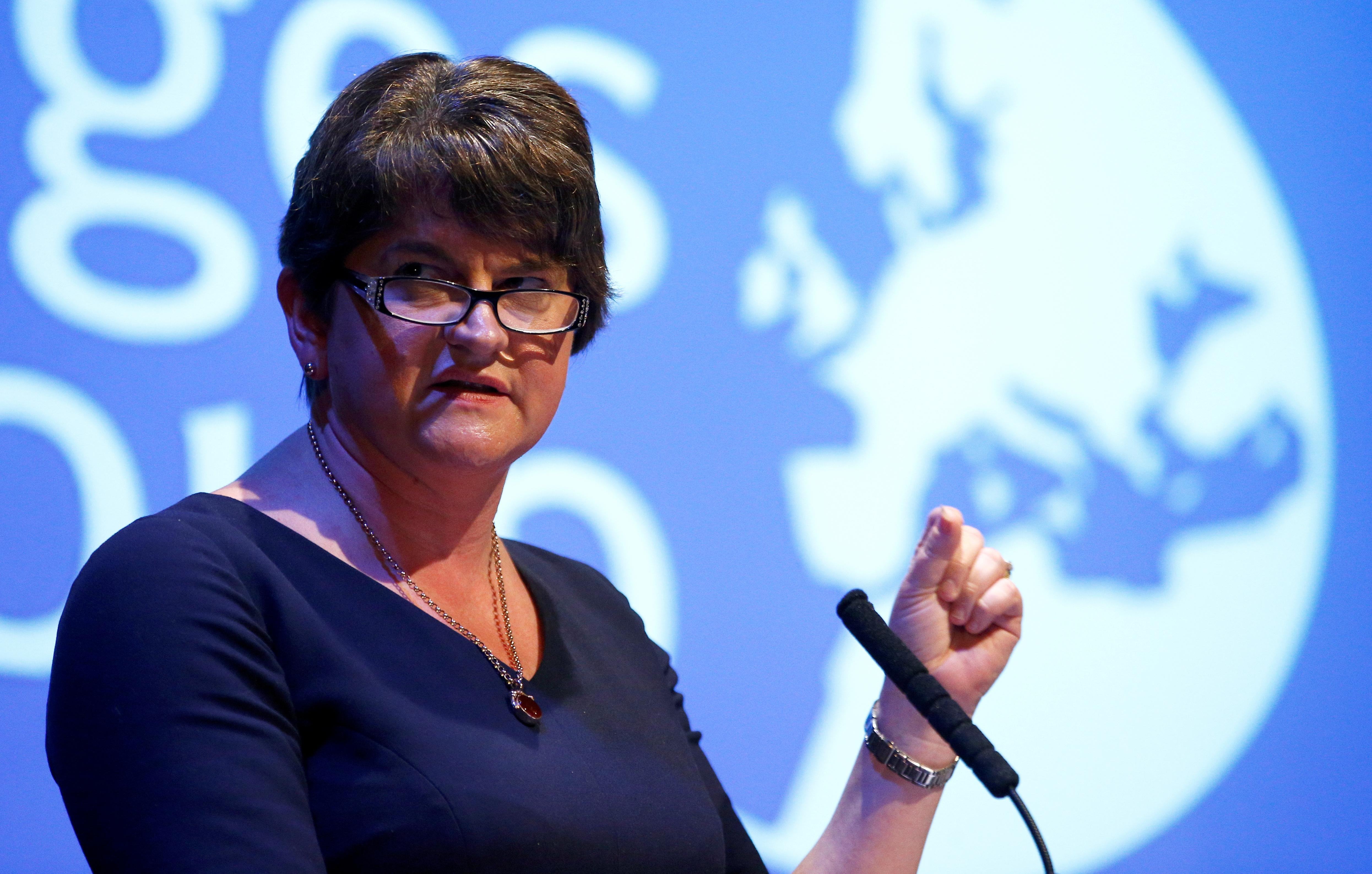 North Ireland's DUP says it cannot support Brexit deal as it stands