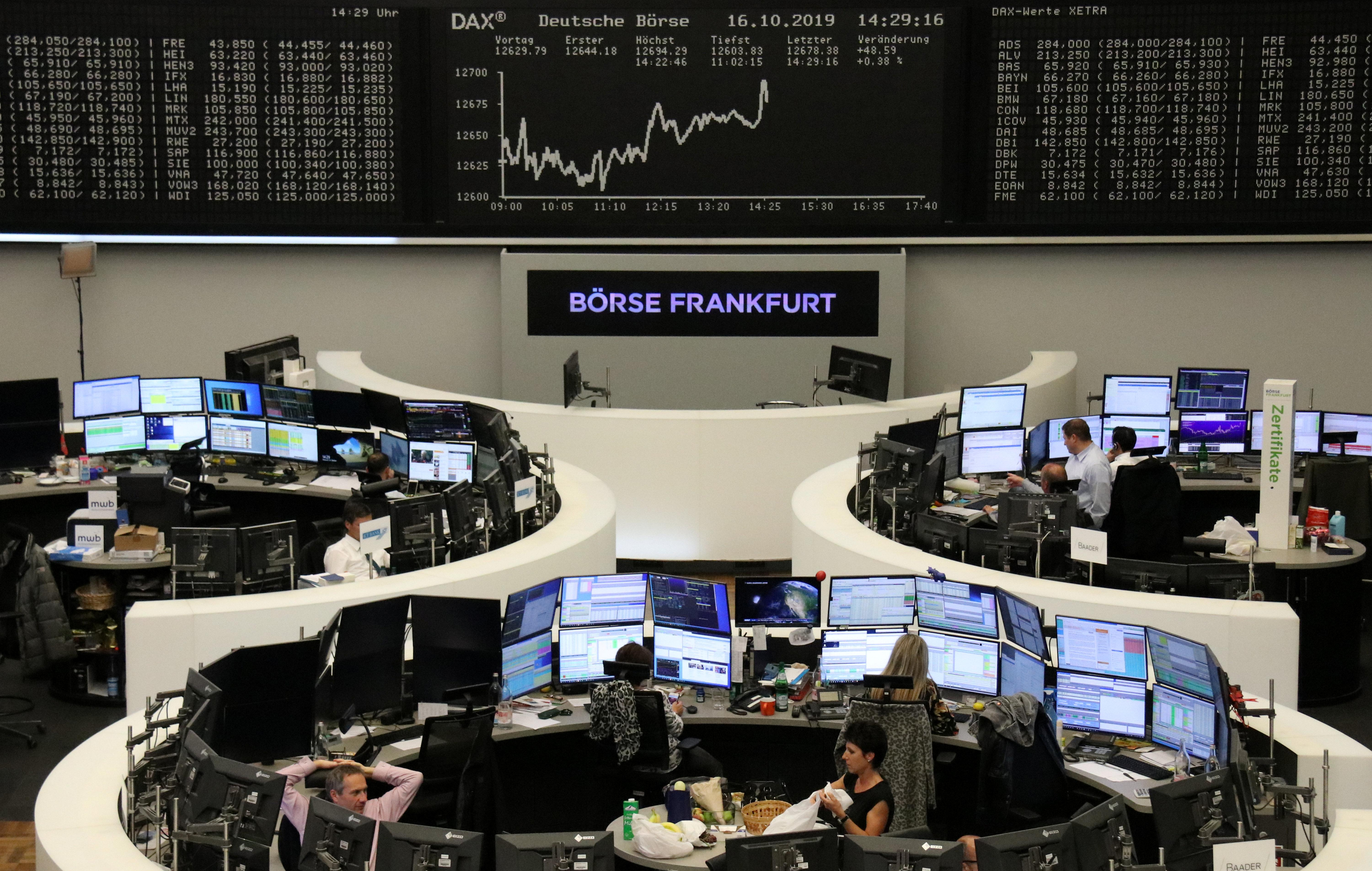 Tempered Brexit hopes drag European stocks into red