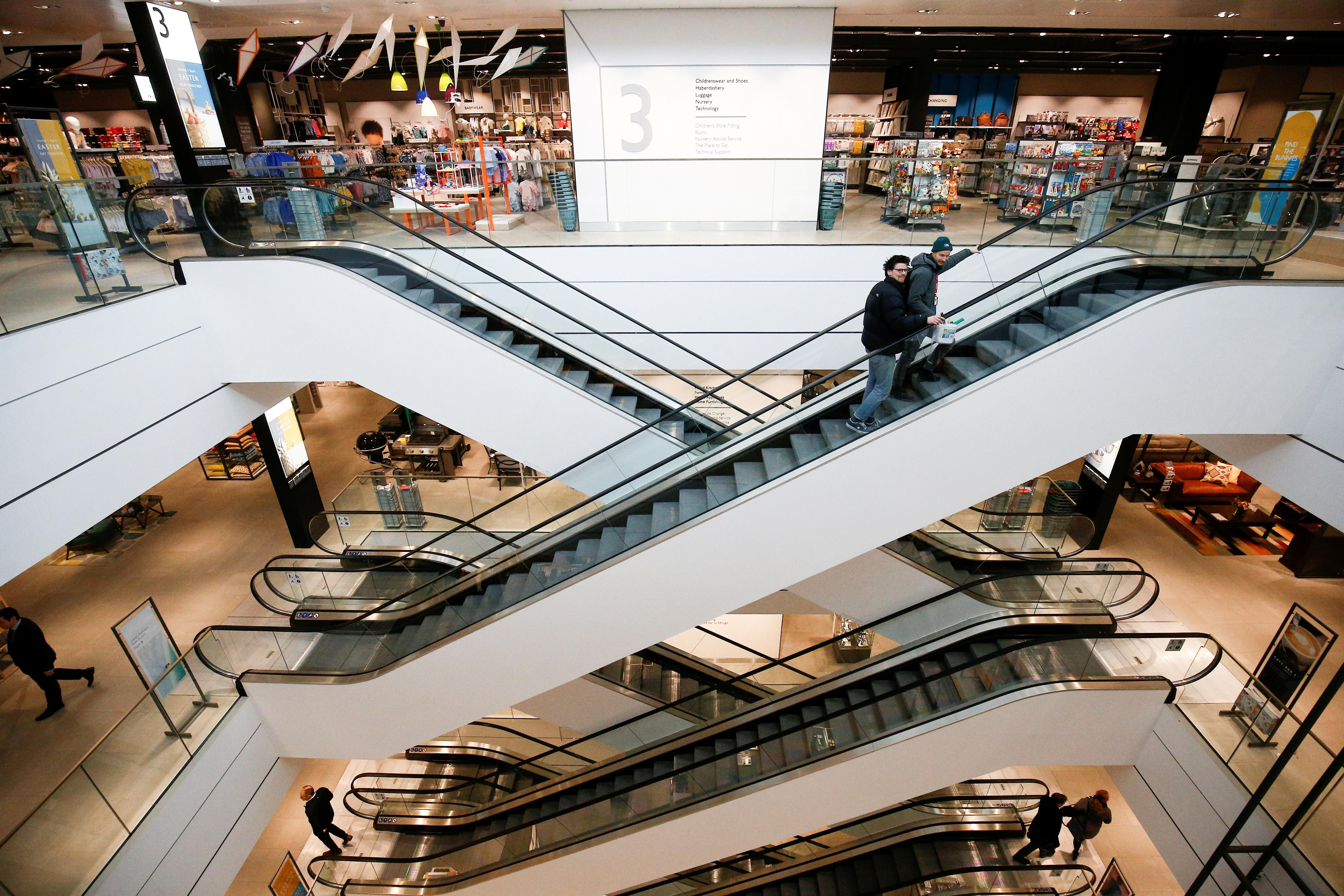 UK retail sales growth softens as department stores disappoint