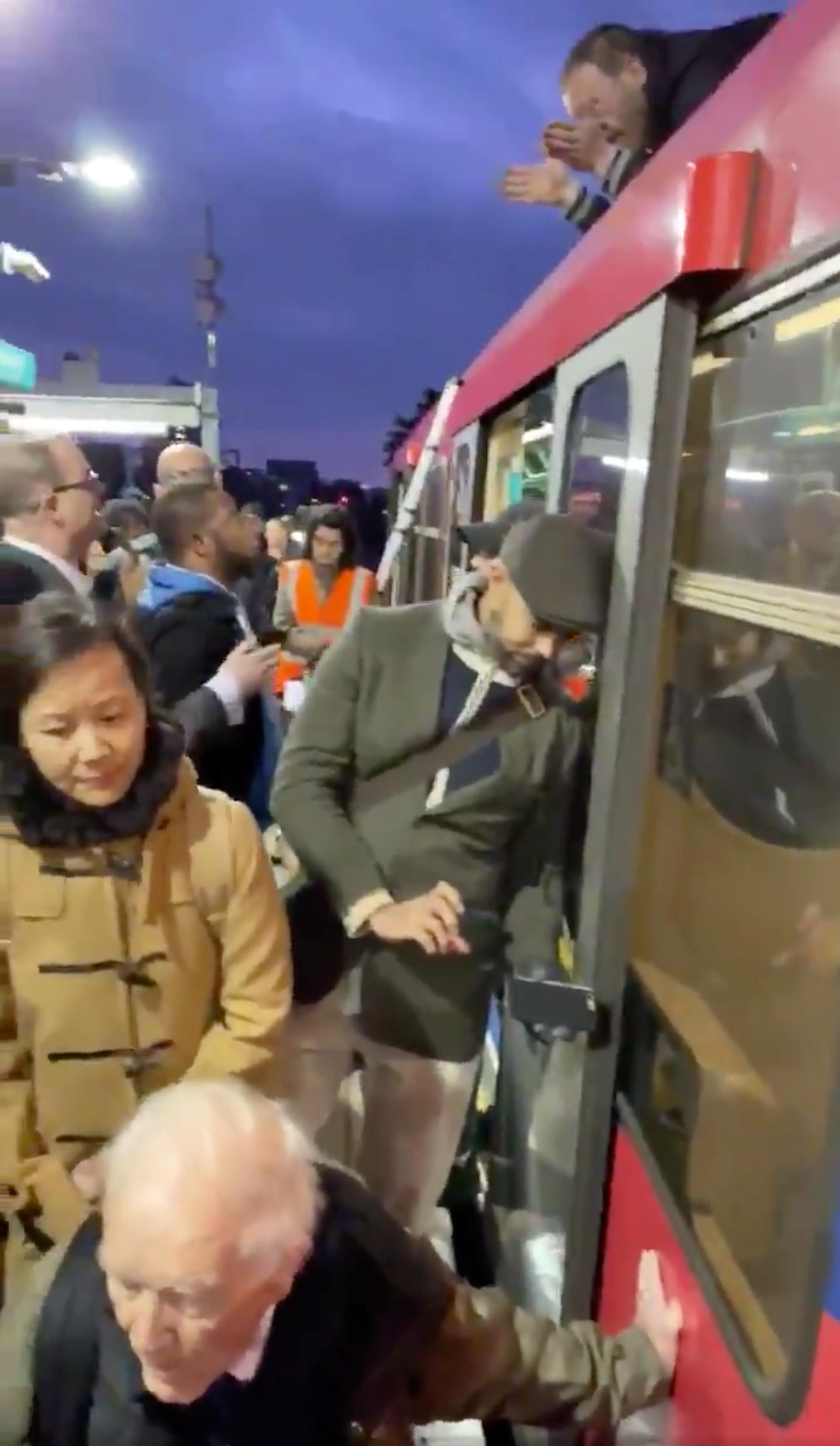 Climate-change protesters disrupt London rush hour