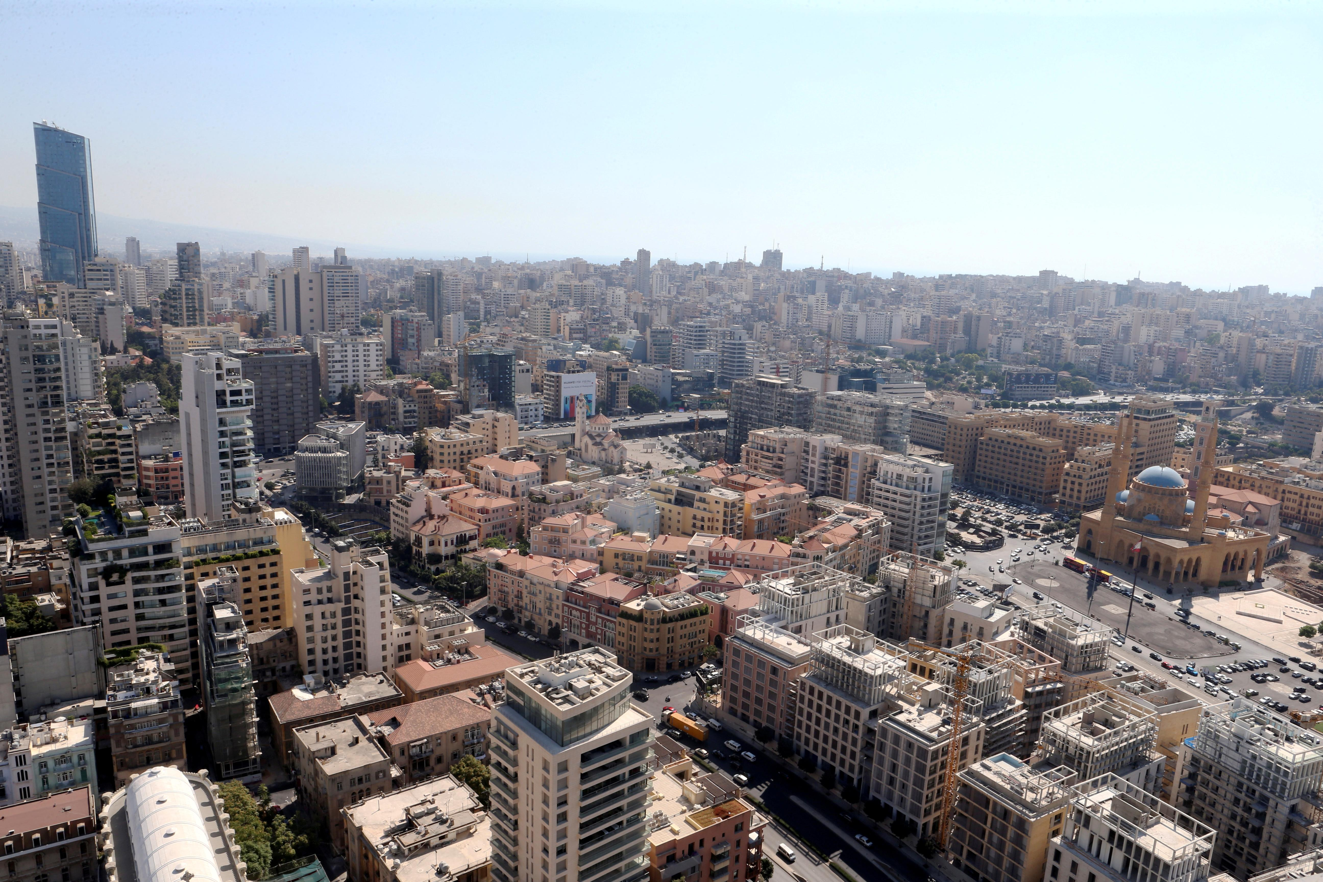 Thousands protest across Lebanon over dire economy, proposed...