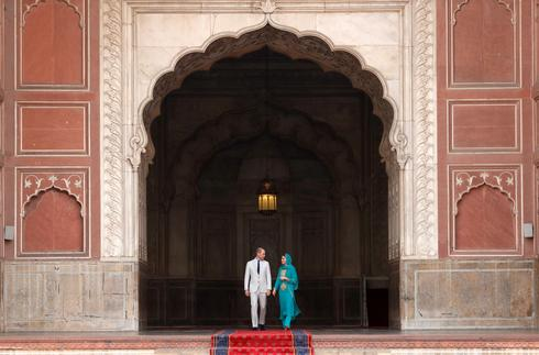 Will and Kate in Pakistan