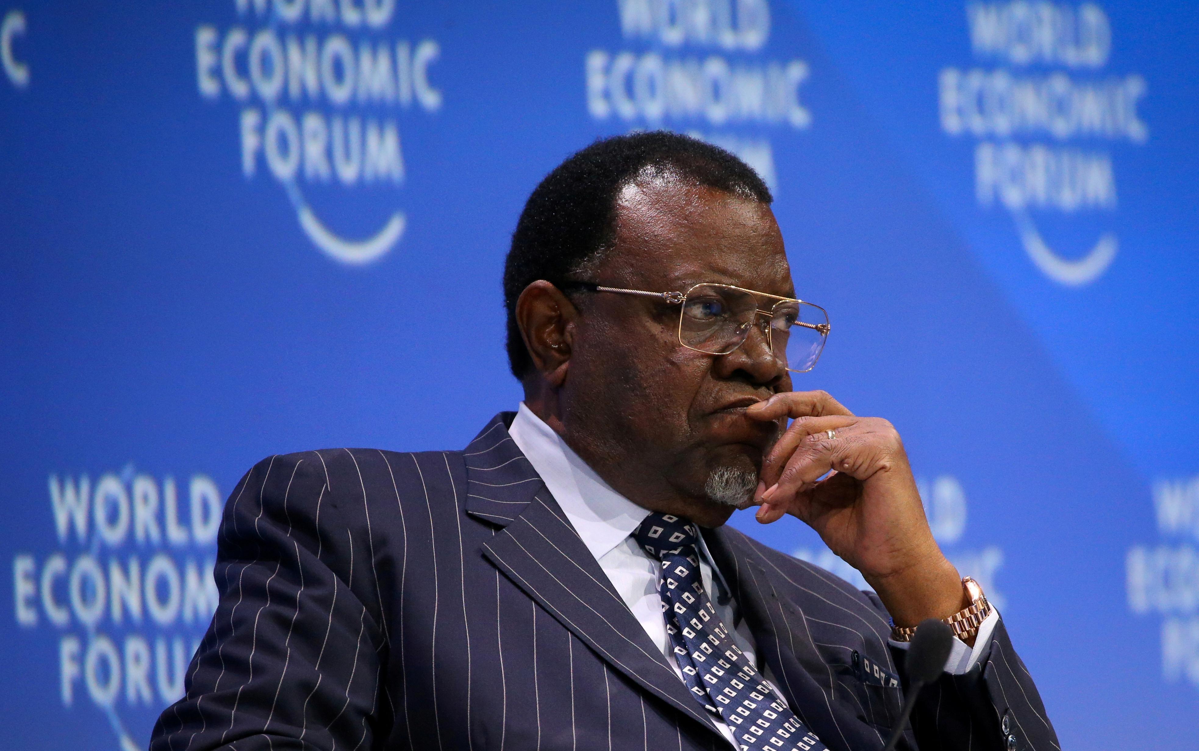 Namibian president set for re-election next month amid economic crisis