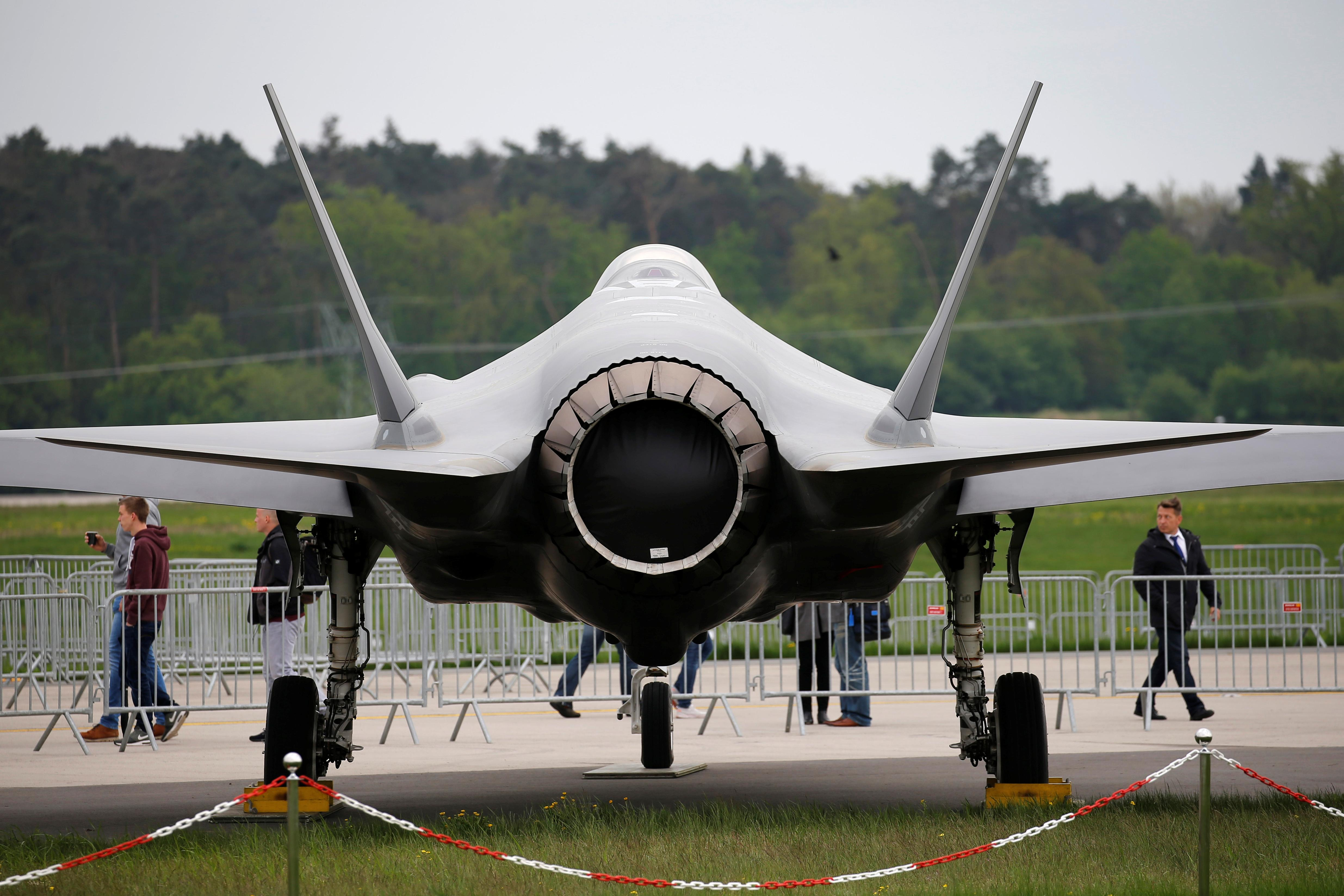 Pentagon says decision on full-rate F-35 jet production possibly...