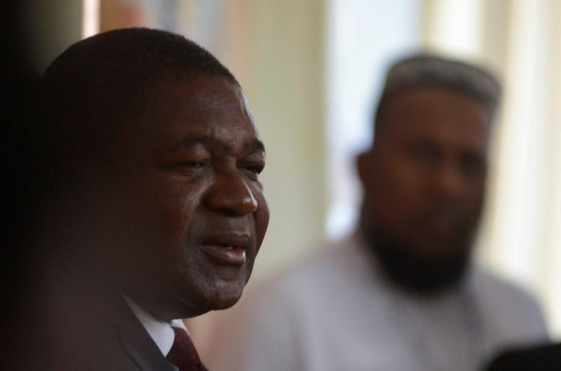 Mozambique's Nyusi takes election lead, opposition cries foul