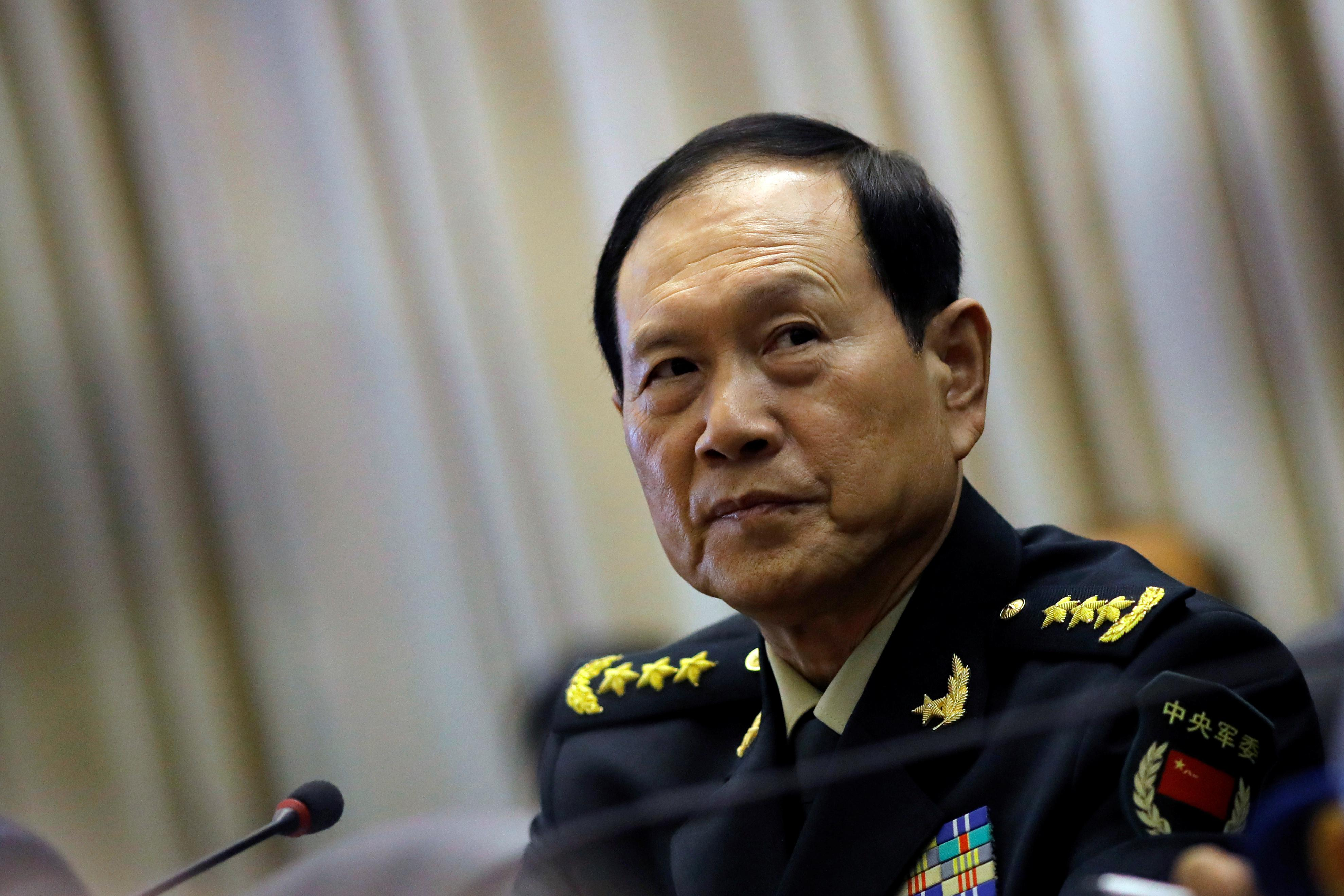 China's defence minister says resolving 'Taiwan question' is...