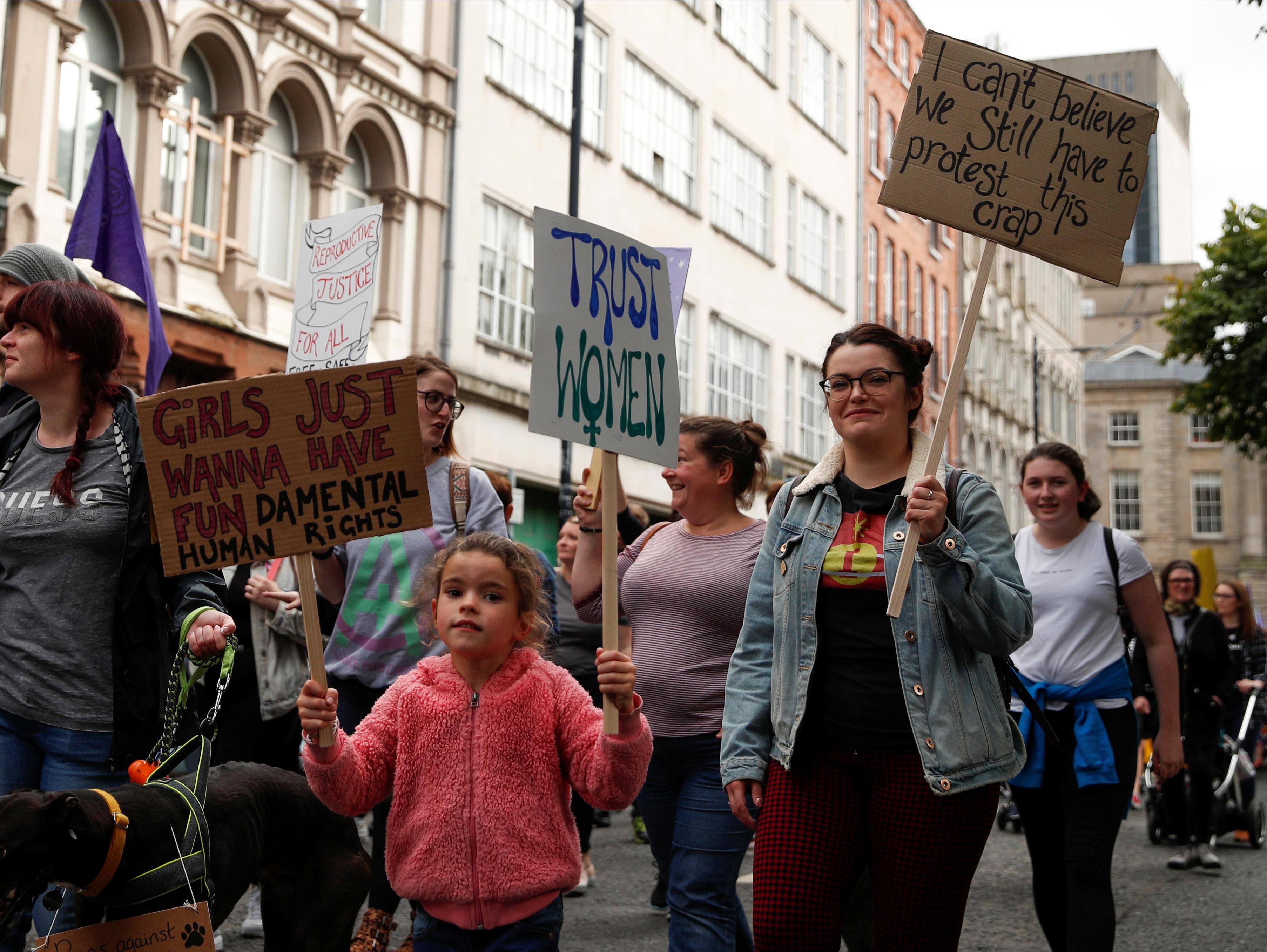 Northern Ireland prepares for momentous abortion, same-sex marriage...