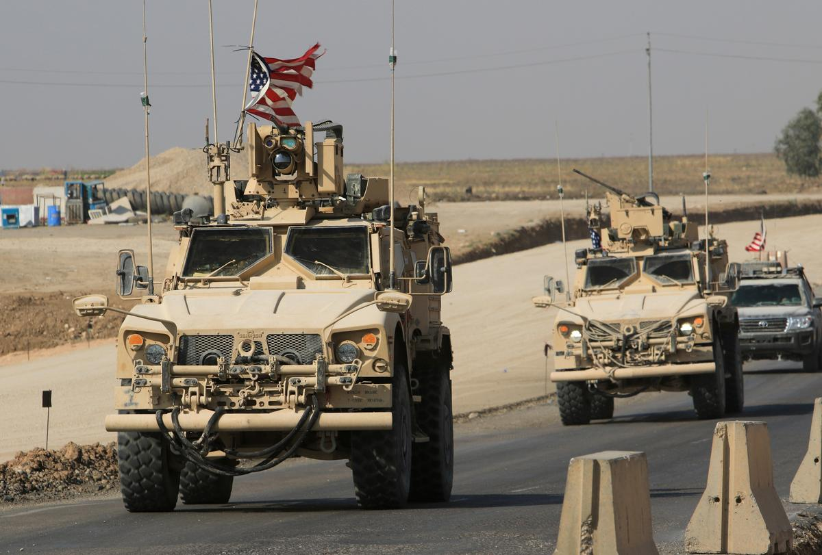 U.S. troops cross into Iraq as part of withdrawal from Syria