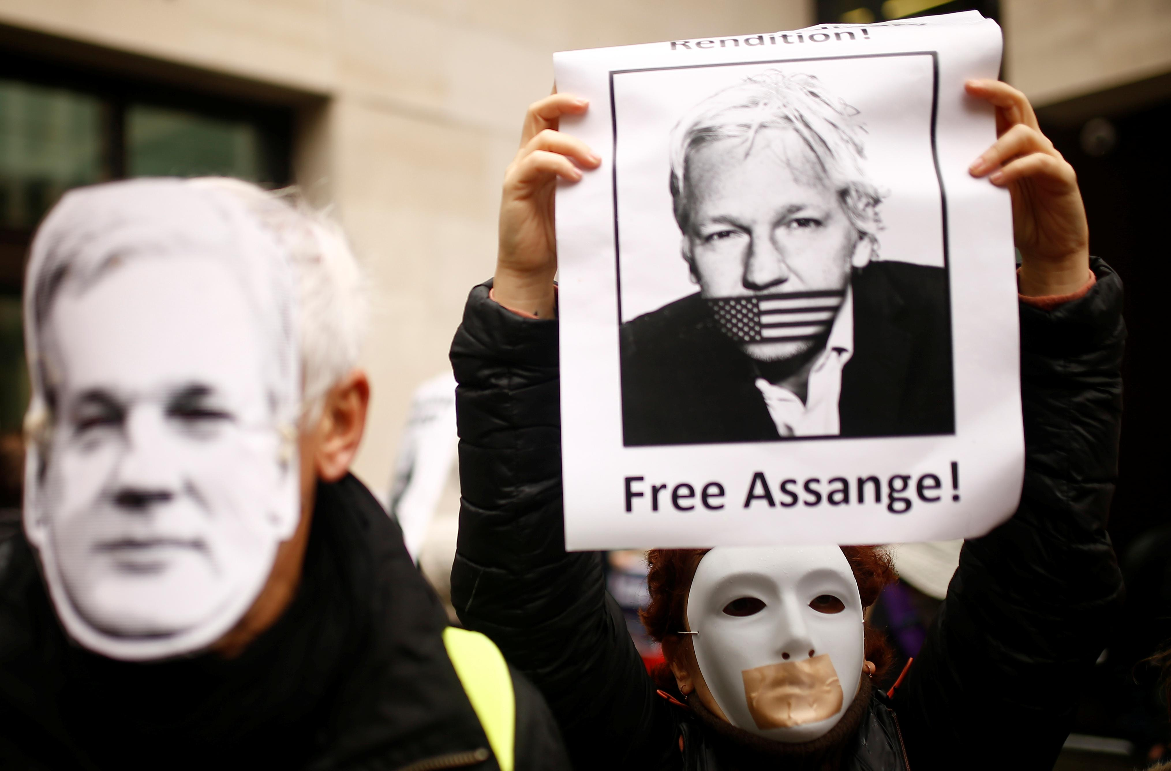 WikiLeaks founder Assange denied delay to extradition hearing by...