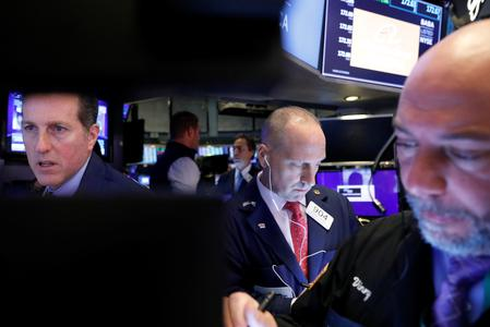 US STOCKS-Trade hopes boost Wall Street; tech shares lead gains