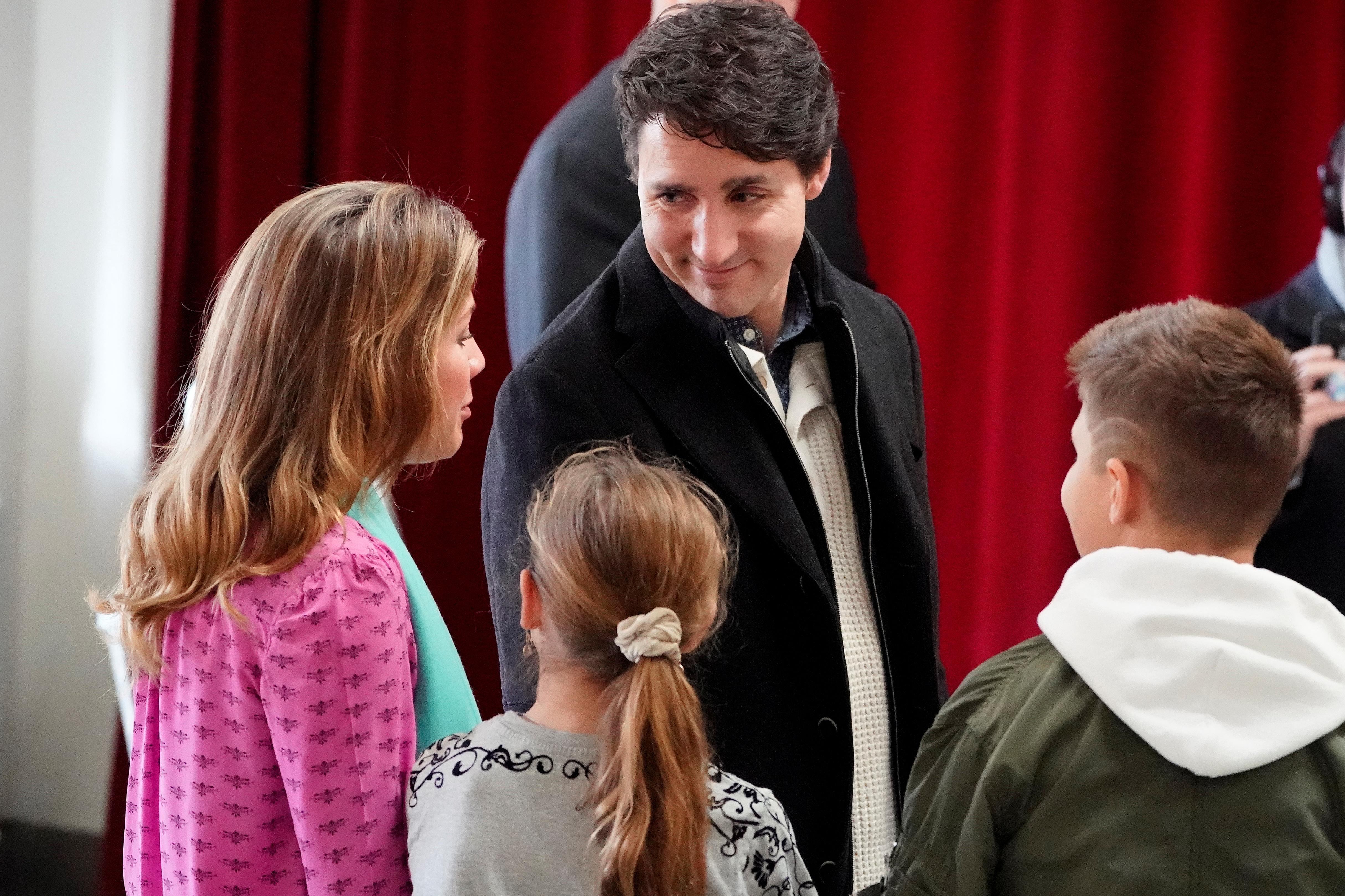 Justin Trudeau's Liberals projected to form Canada's next...